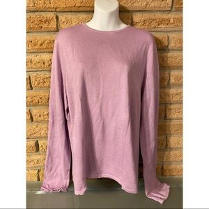 Lauren by Ralph Lauren women's Pink sweater XL
